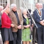Gedecoreerden en de Burgemeester